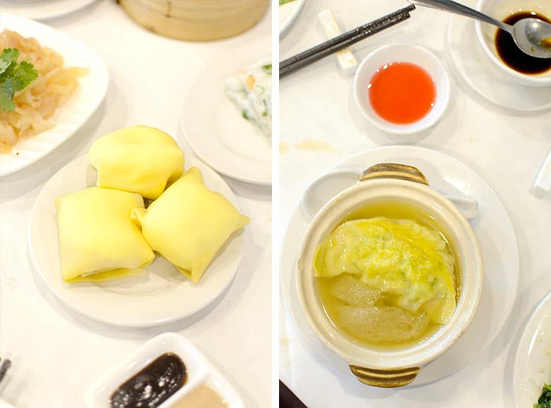 Mango pancakes & supreme dumpling @ Sun Sui Wah
